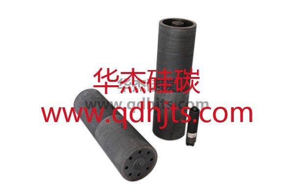Nonferrous metal casting and rolling longer graphite mold